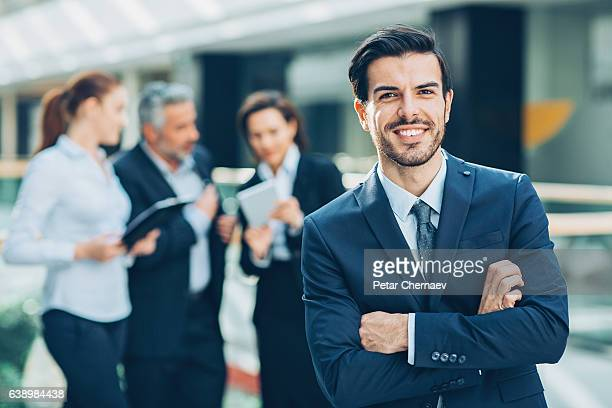 business leader - employment law stock photos and pictures