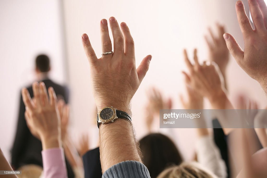 Business lecture : Stock Photo