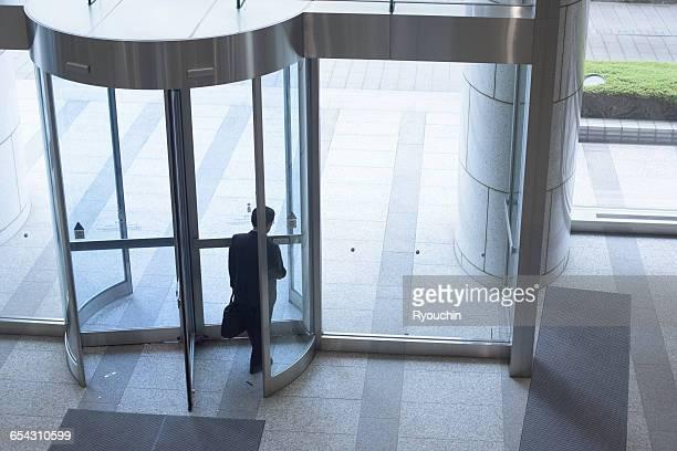 business life, businessman, people who work - leaving stock-fotos und bilder