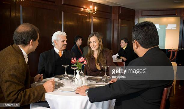 ビジネスランチミーティング