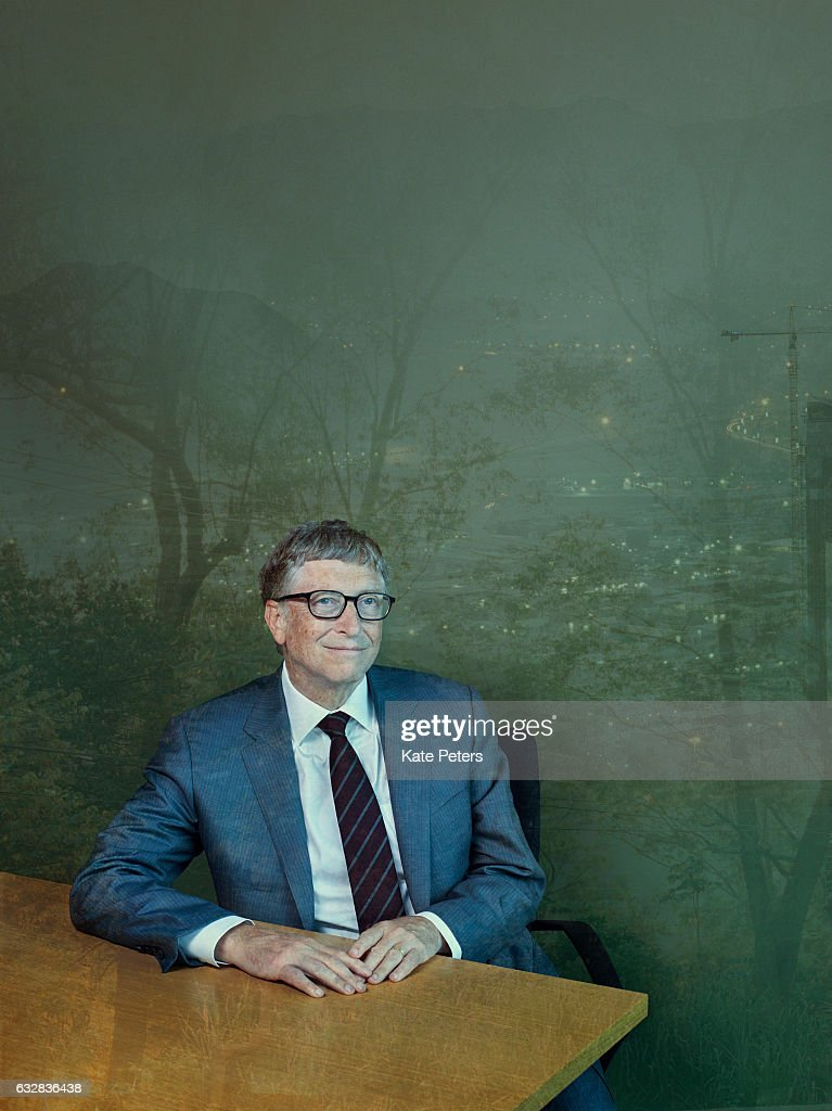 Business magnate, investor, author and philanthropist Bill Gates is photographed for the Telegraph on June 29, 2016 in London, England.