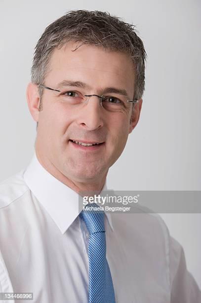 Business man, 40+, portrait