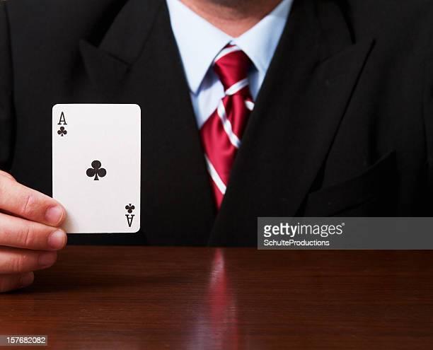 Business Mann Ace-Karte