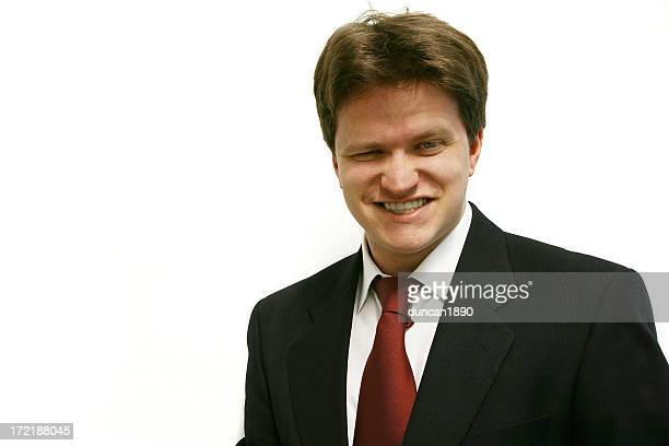 business man cheesy grin you can trust me - fake man stock photos and pictures