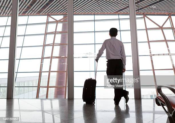 business man in the airport