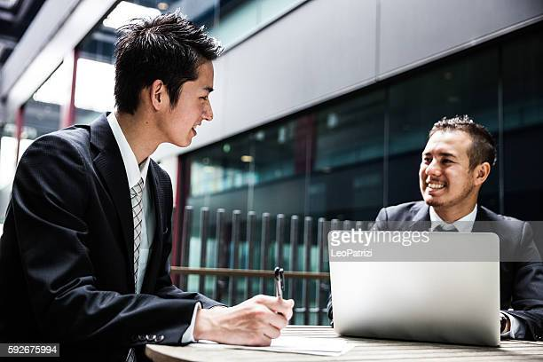 Business man in the office - Japan businessman