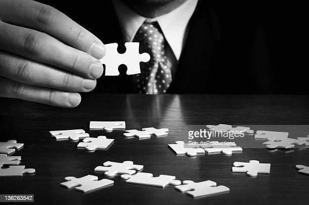 Business Mann Puzzle