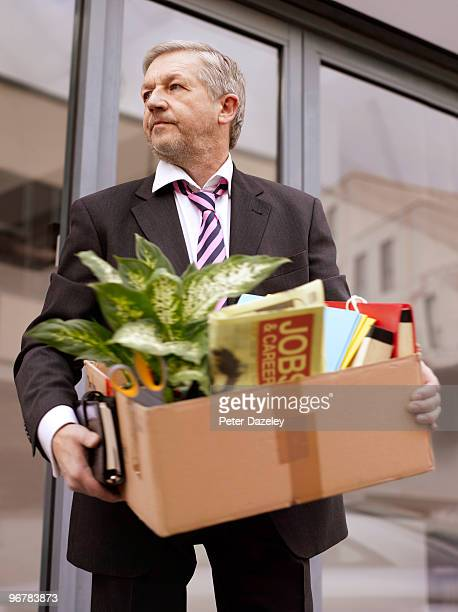 business man made redundant - being fired stock pictures, royalty-free photos & images