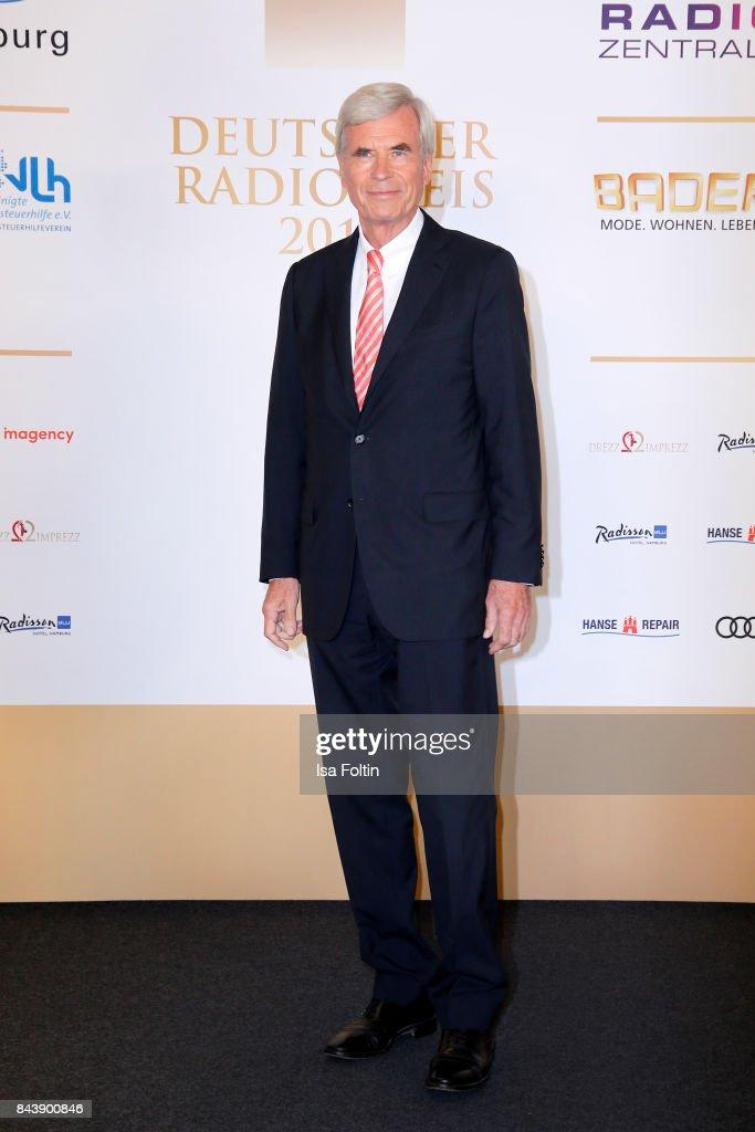 business man Michael Otto attends the 'Deutscher Radiopreis' (German Radio Award) at Elbphilharmonie on September 7, 2017 in Hamburg, Germany.