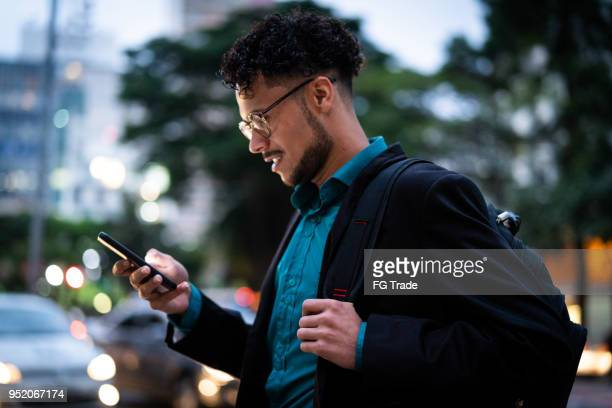 business man on the move - brazilian men stock photos and pictures
