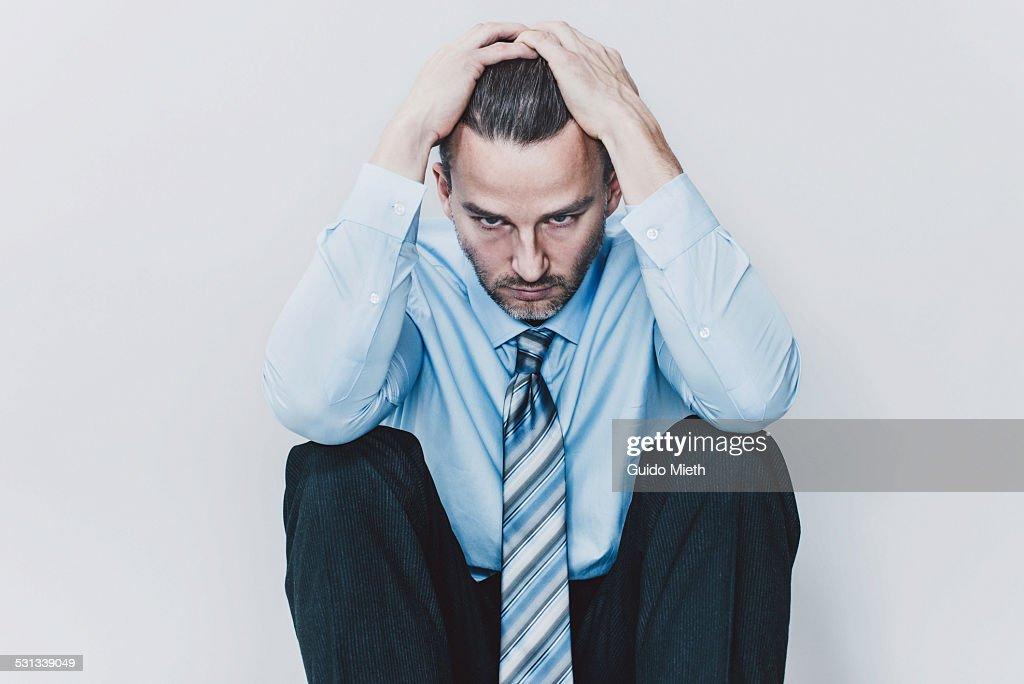 Business man. : Stock Photo