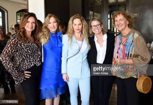 Business manager Lou Taylor President of The Recording Academy Deborah Dugan Dina LaPolt BillboardHollywood Reporter Media Group Deanna Brown and EVP...