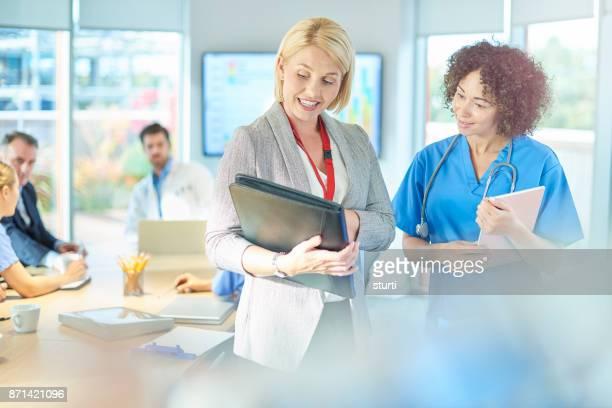 医療スタッフ会議