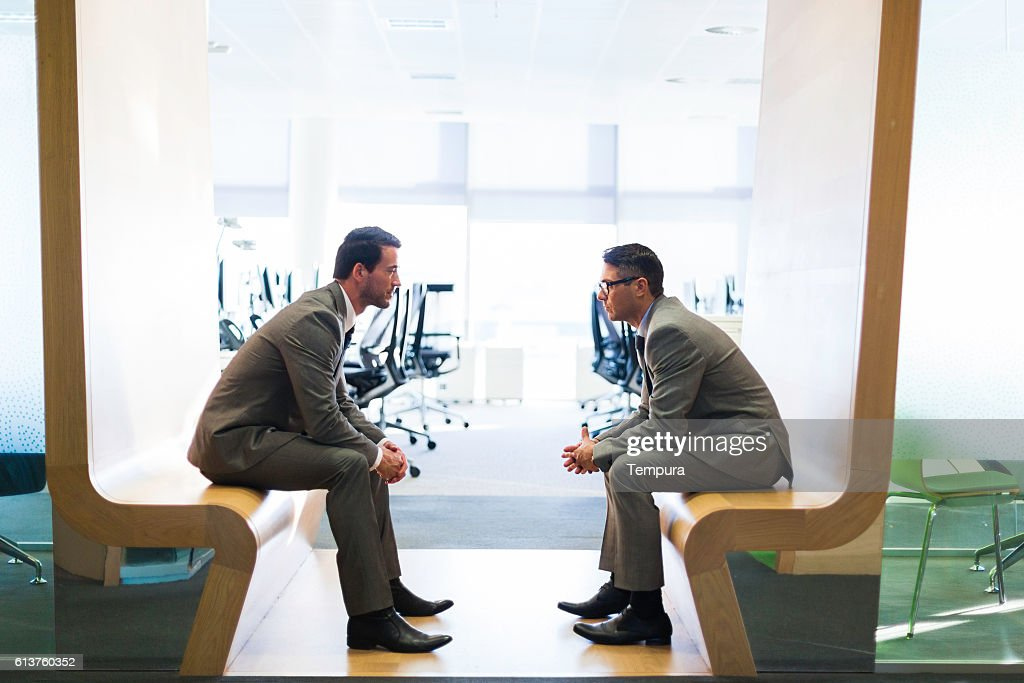 Business meeting in a modern office. : Stock Photo