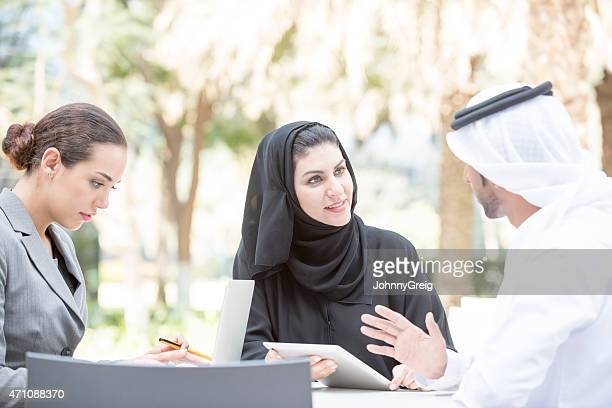 Business meeting in Dubai