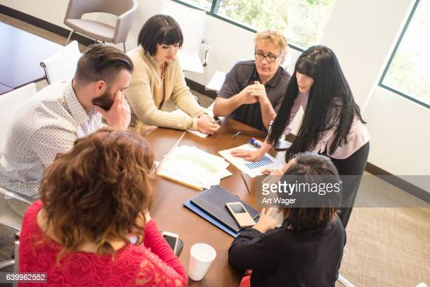 Business Meeting Led by Strong Female Manager