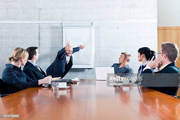 Business Meeting - Manager Freaking Out
