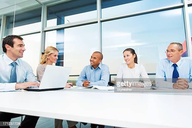 ビジネスミーティングにも最適です。