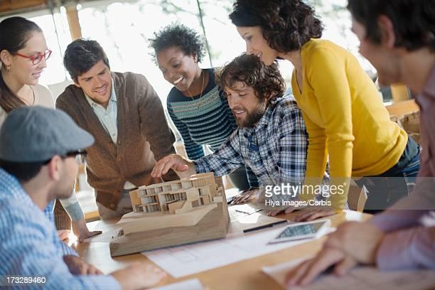 business meeting - 建築模型 ストックフォトと画像