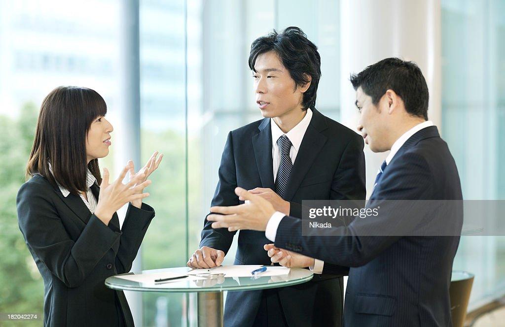 ビジネスミーティング : ストックフォト