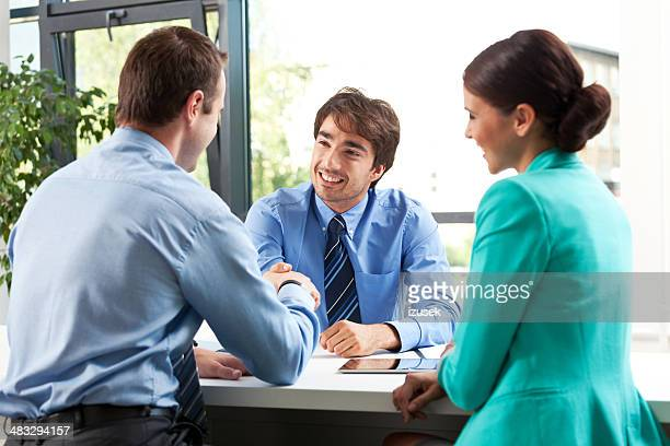 business meeting - izusek stock pictures, royalty-free photos & images