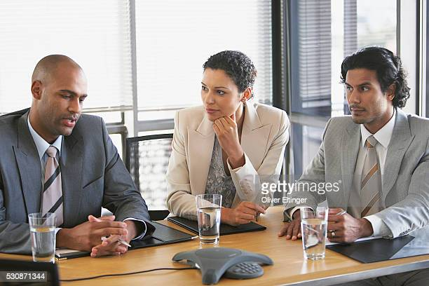 business meeting - oliver eltinger stock-fotos und bilder
