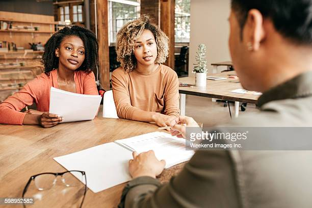 business meeting - employment law stock photos and pictures