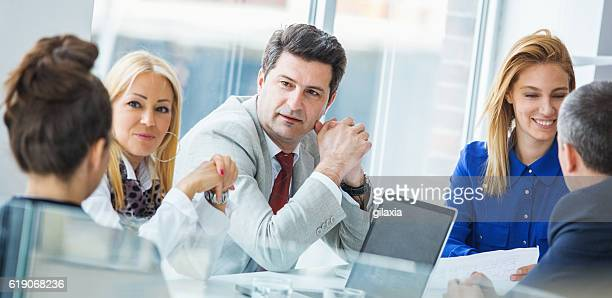 business meeting. - chairperson stock pictures, royalty-free photos & images