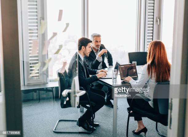 business meeting - open grave stock photos and pictures