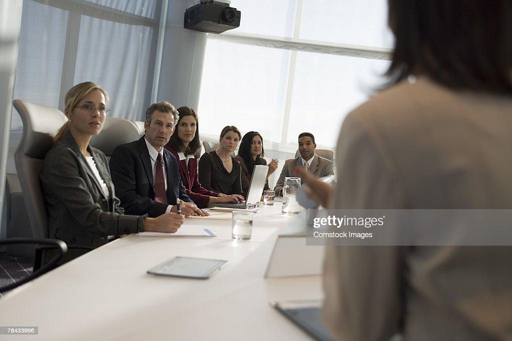 Business meeting : Stockfoto