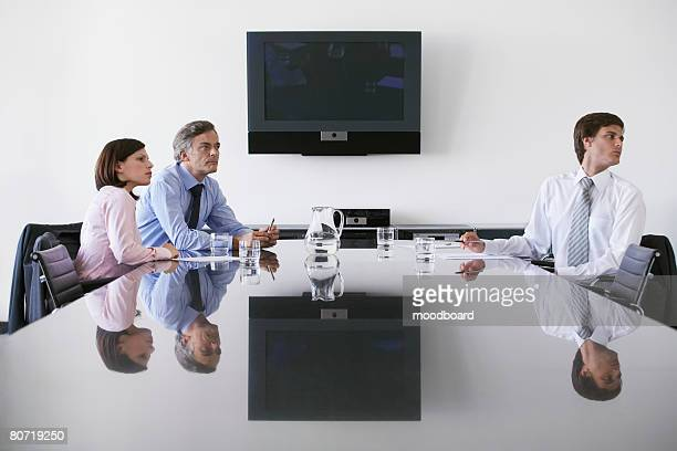 business meeting - waiting stock pictures, royalty-free photos & images