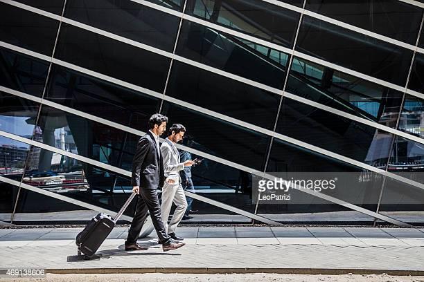 Business Männer in travel