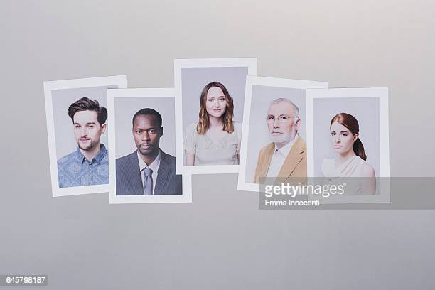 business, network, teamwork, community - five people stock pictures, royalty-free photos & images