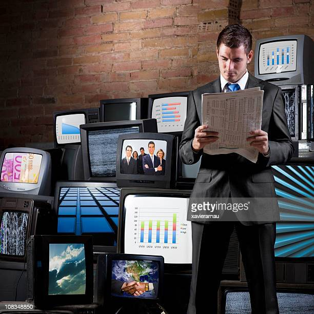 business news - vintage stock stock pictures, royalty-free photos & images