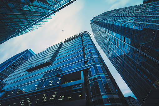 Business office building in London, 911607890