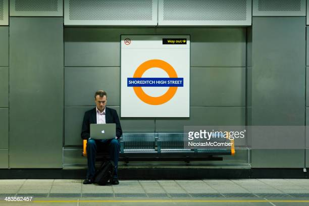 business on the go - shoreditch stock photos and pictures
