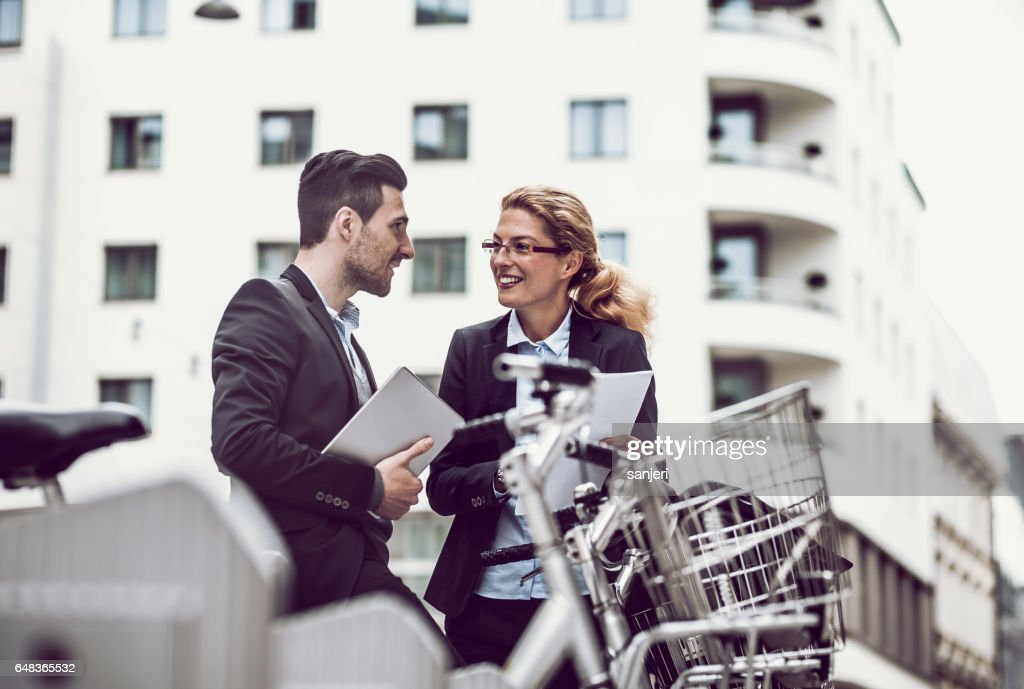 Business on the Go : Stock Photo