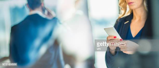 business on the phone - executive director stock pictures, royalty-free photos & images