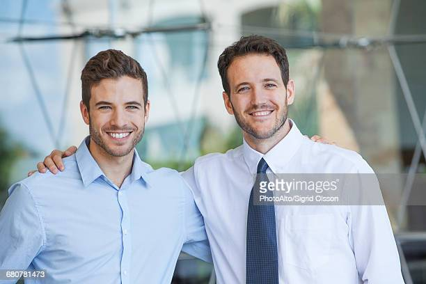 business partners, portrait - arm around stock pictures, royalty-free photos & images