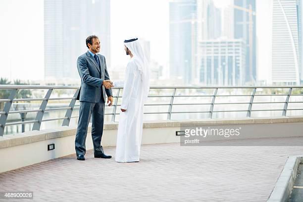 Business partnership in Dubai