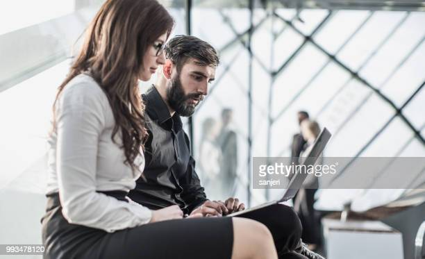 Business People at a Conference Meeting