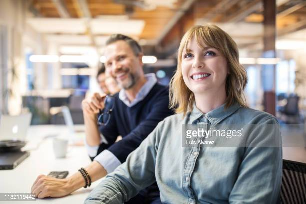 business people at meeting in board room - alertness stock pictures, royalty-free photos & images