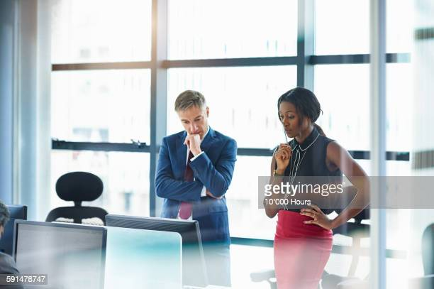 Business people collaborating on a project
