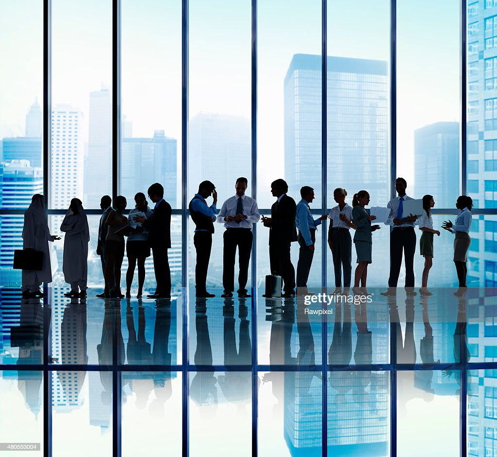 Business People Corporate Communication Office Concept : Stock Photo