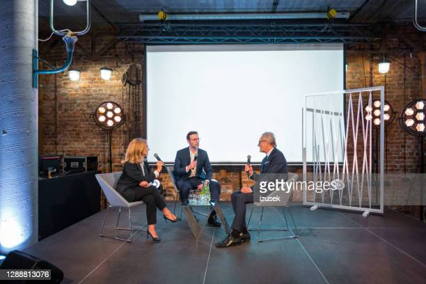 business people during seminar - interview stock pictures, royalty-free photos & images