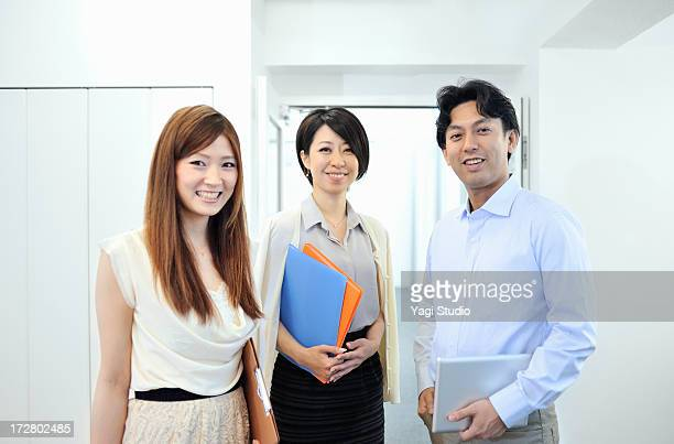 Business people have a meeting with Digital Tablet