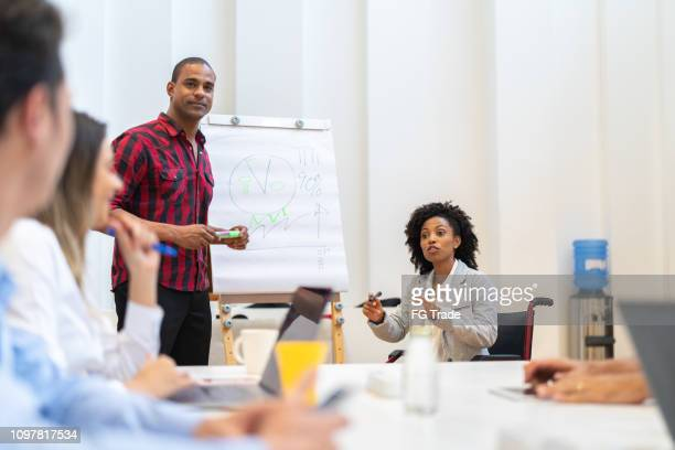 business people having a conference - small group of people stock pictures, royalty-free photos & images