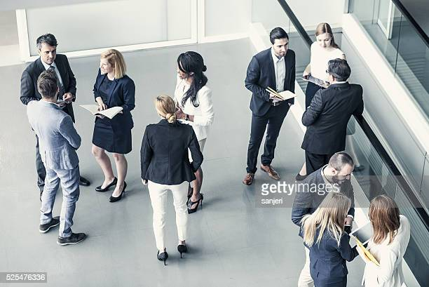 business people having a meeting - debate stock photos and pictures