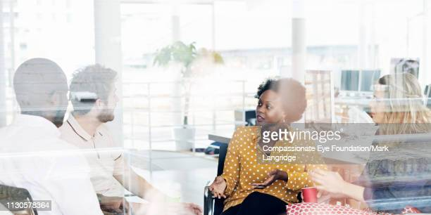 business people having meeting in modern office - photography stock pictures, royalty-free photos & images