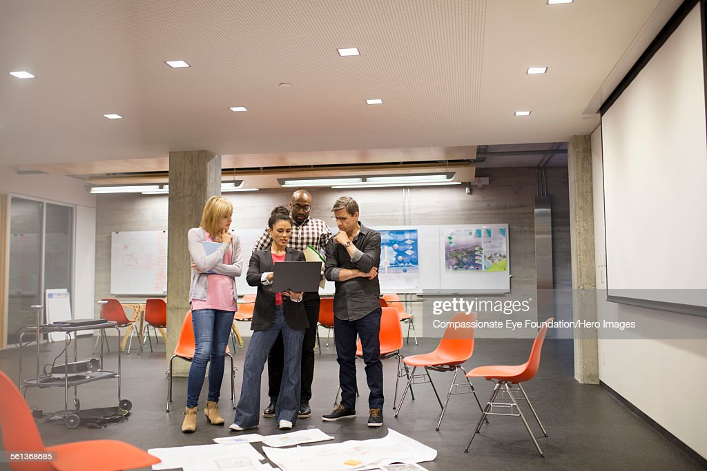 Business people having meeting in modern office : Stock Photo